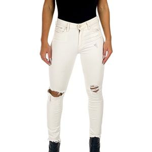 Mother high rise jeans